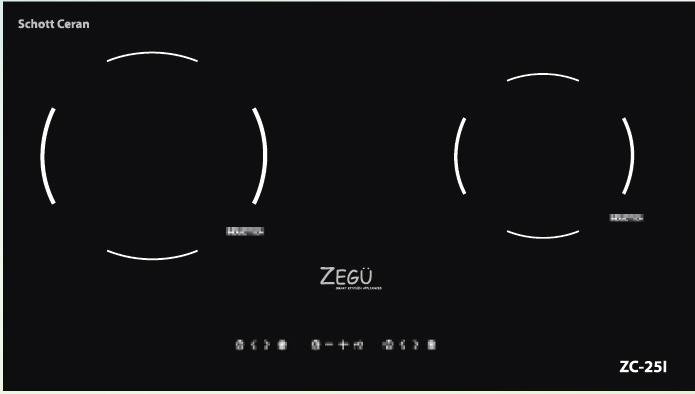 Bếp từ Zegu ZM-25I