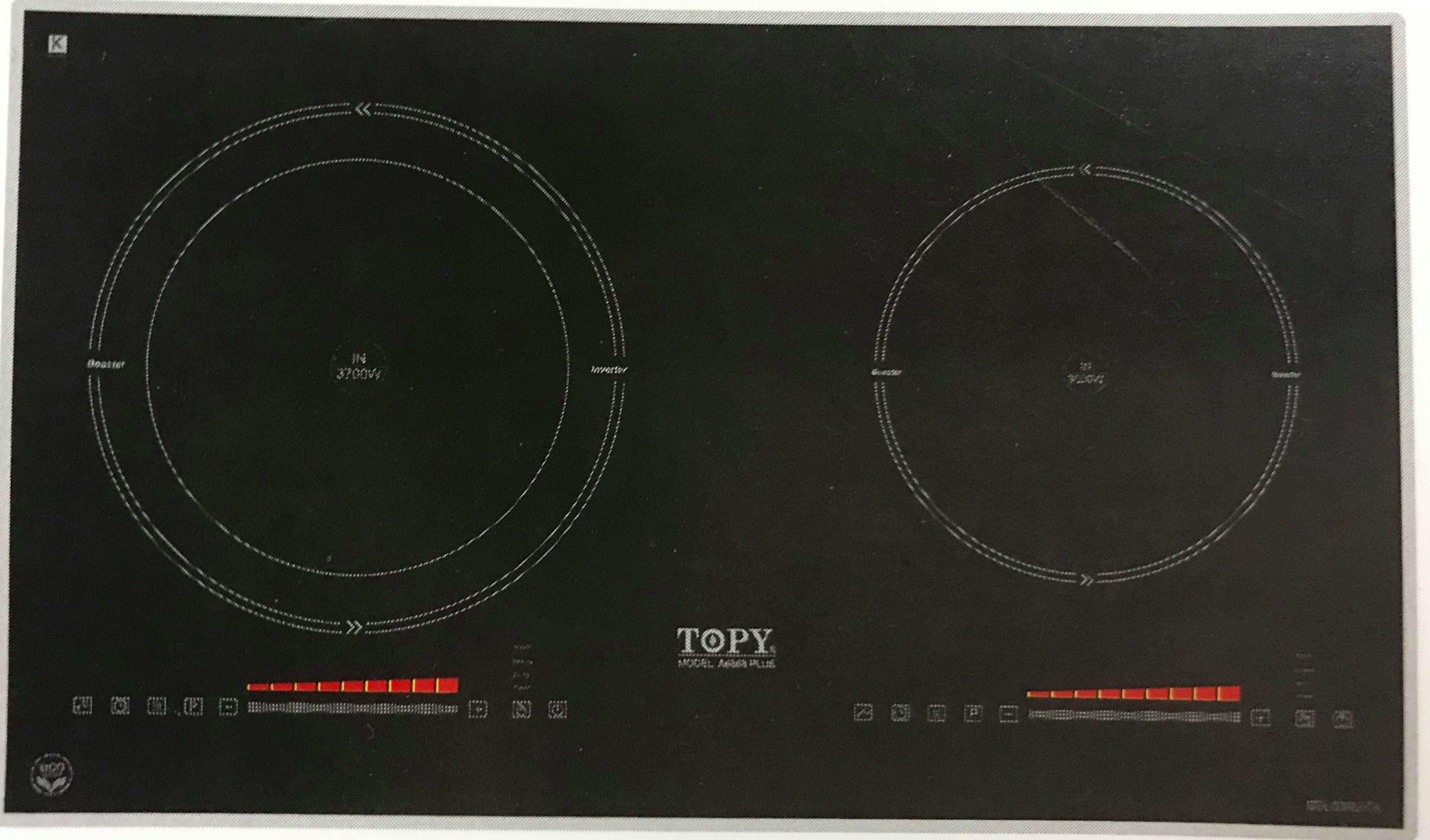 Bếp từ TOPY TP-868 PLUS
