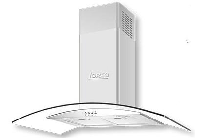 Máy hút mùi kính cong Lorca TA-2006B