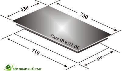 BẾP TỪ 2 CATA IB 0722-DC