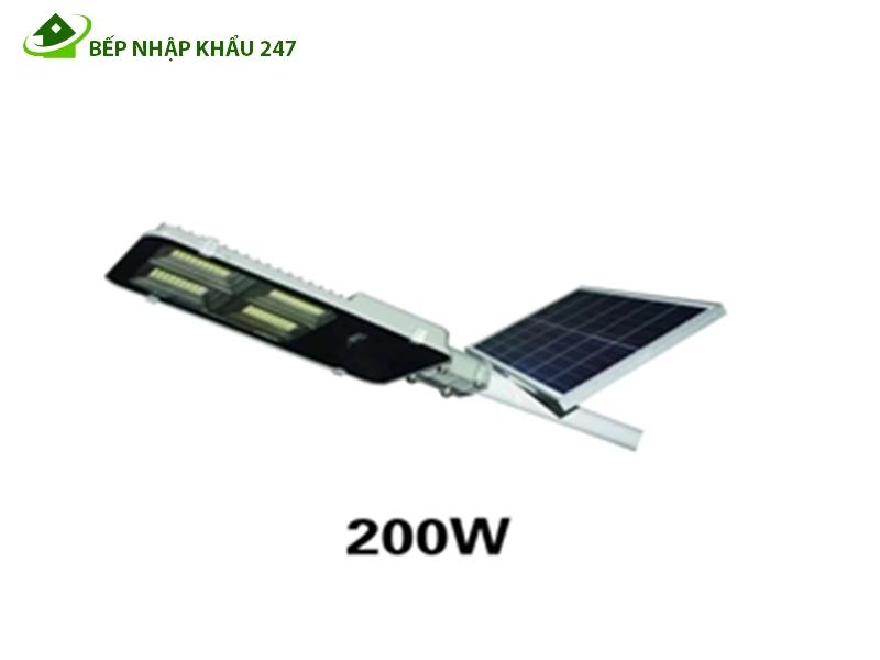 Đèn năng lượng mặt trời 200W điều khiển từ xa