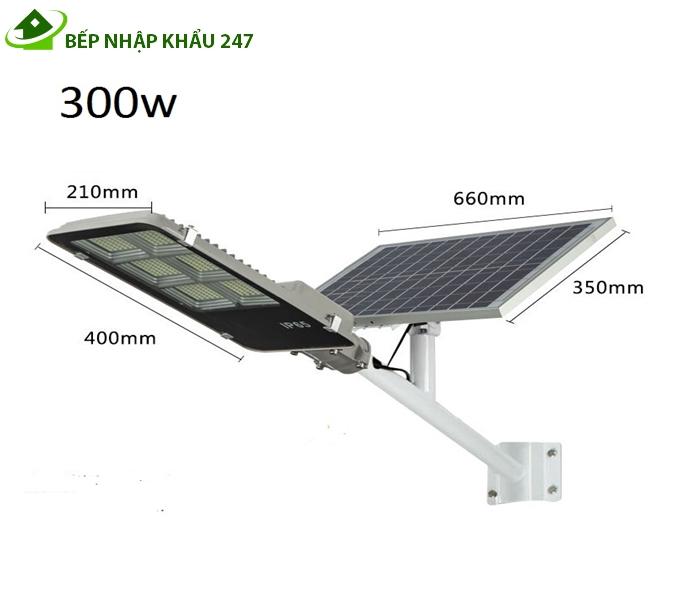 Đèn năng lượng mặt trời 300W điều khiển từ xa