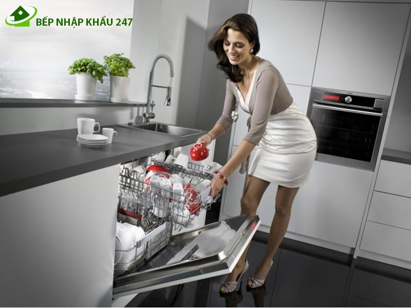 Máy rửa bát hiện đại - Tư vấn chọn mua nội thất cho nhà bếp